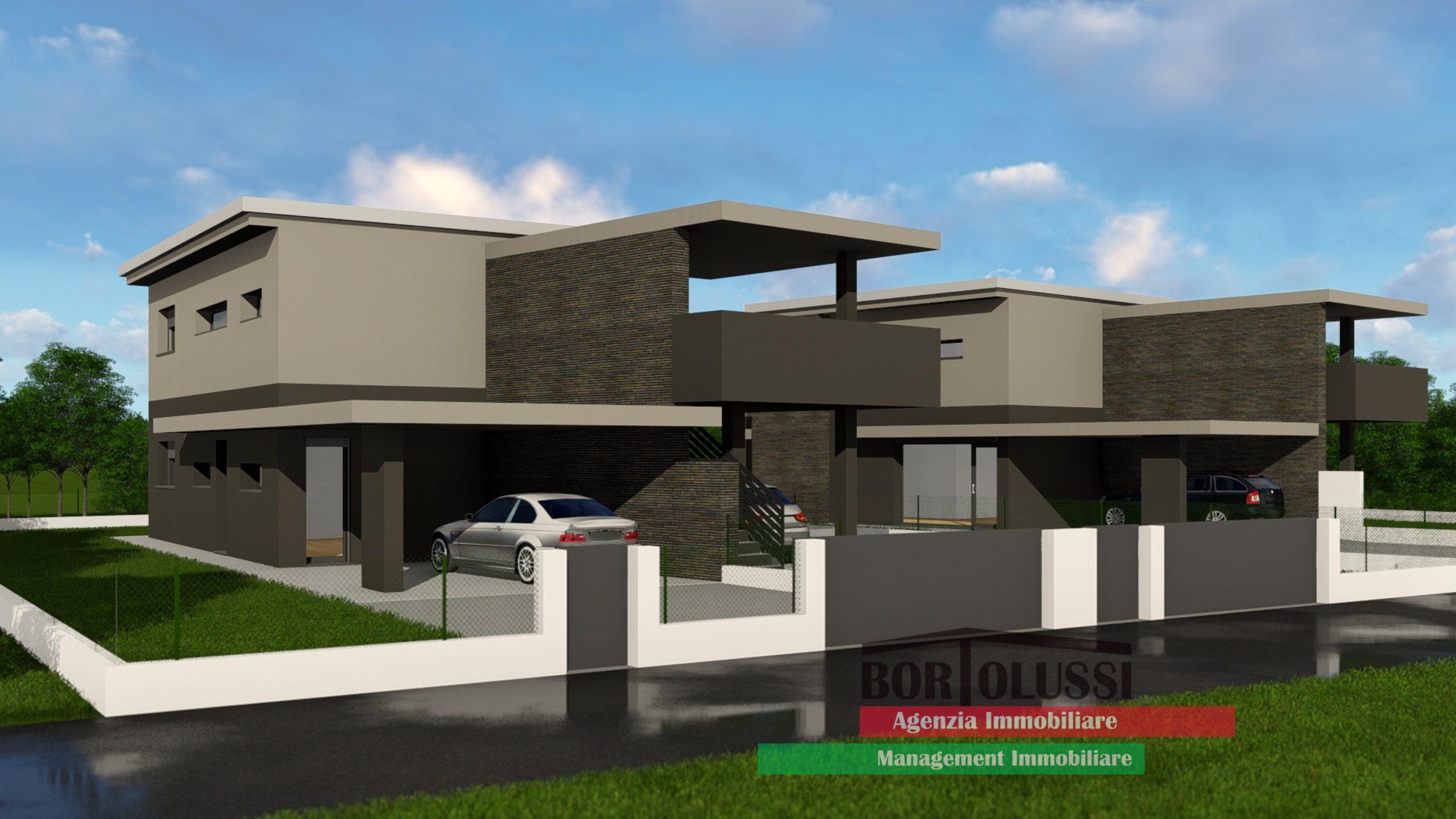 Appartamento in villa di nuova costruzione.