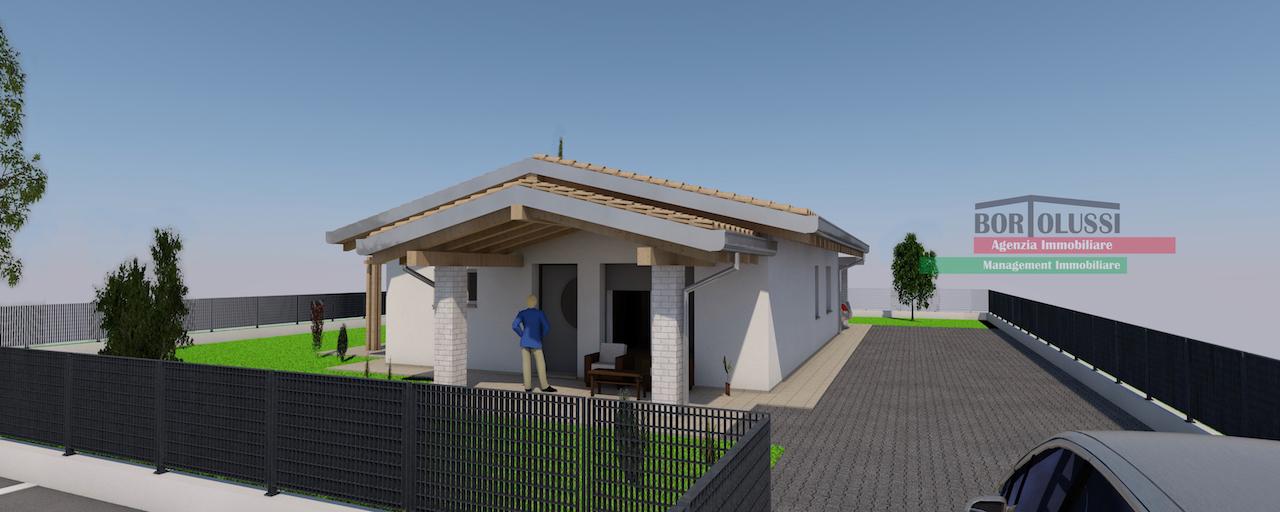 Villa singola di nuova costruzione, in zona residenziale.